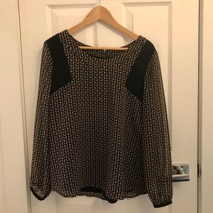 Marks and Spencer long sleeve blouse